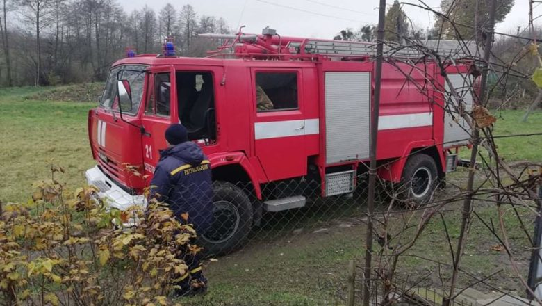 Пожежники ледь загасили потяг у Судилківській ОТГ