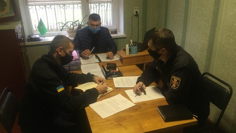У Сахновецькій ОТГ керівники громади зустрілись з рятувальниками