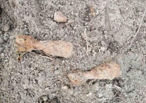 Знайшли міни у Грицеві