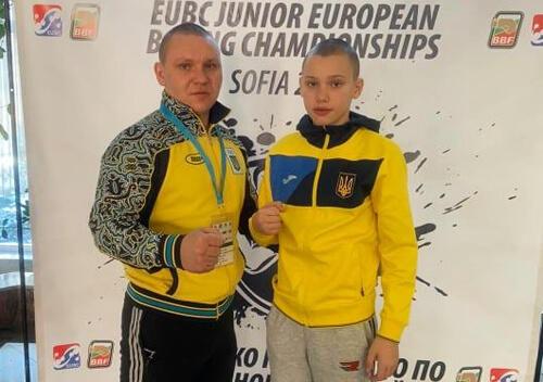 Юний боксер з Шепетівки посів 5-те місце на чемпіонаті Європи