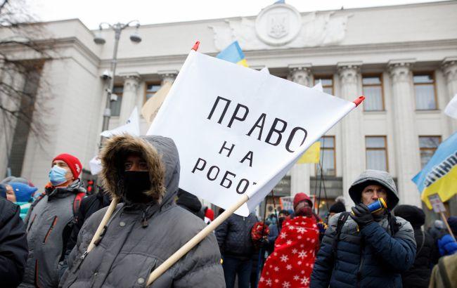 Більше 400 ФОПів з Хмельниччини протестують у Києві