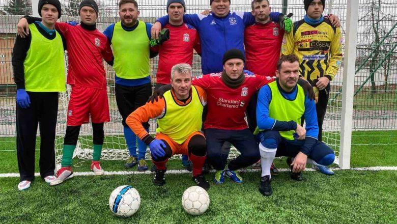 У Грицеві футболісти провели товариську зустріч