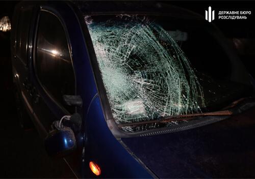 У Білогір'ї п'яний працівник ДСНС збив пішохода