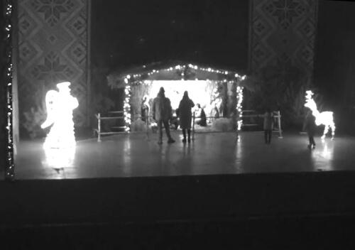 У Нетішині пошкодили Різдвяний Вертеп
