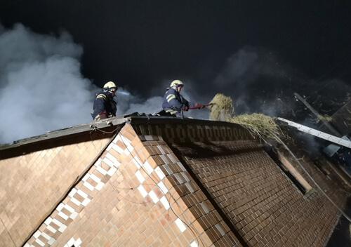 Пожежа в Полонному