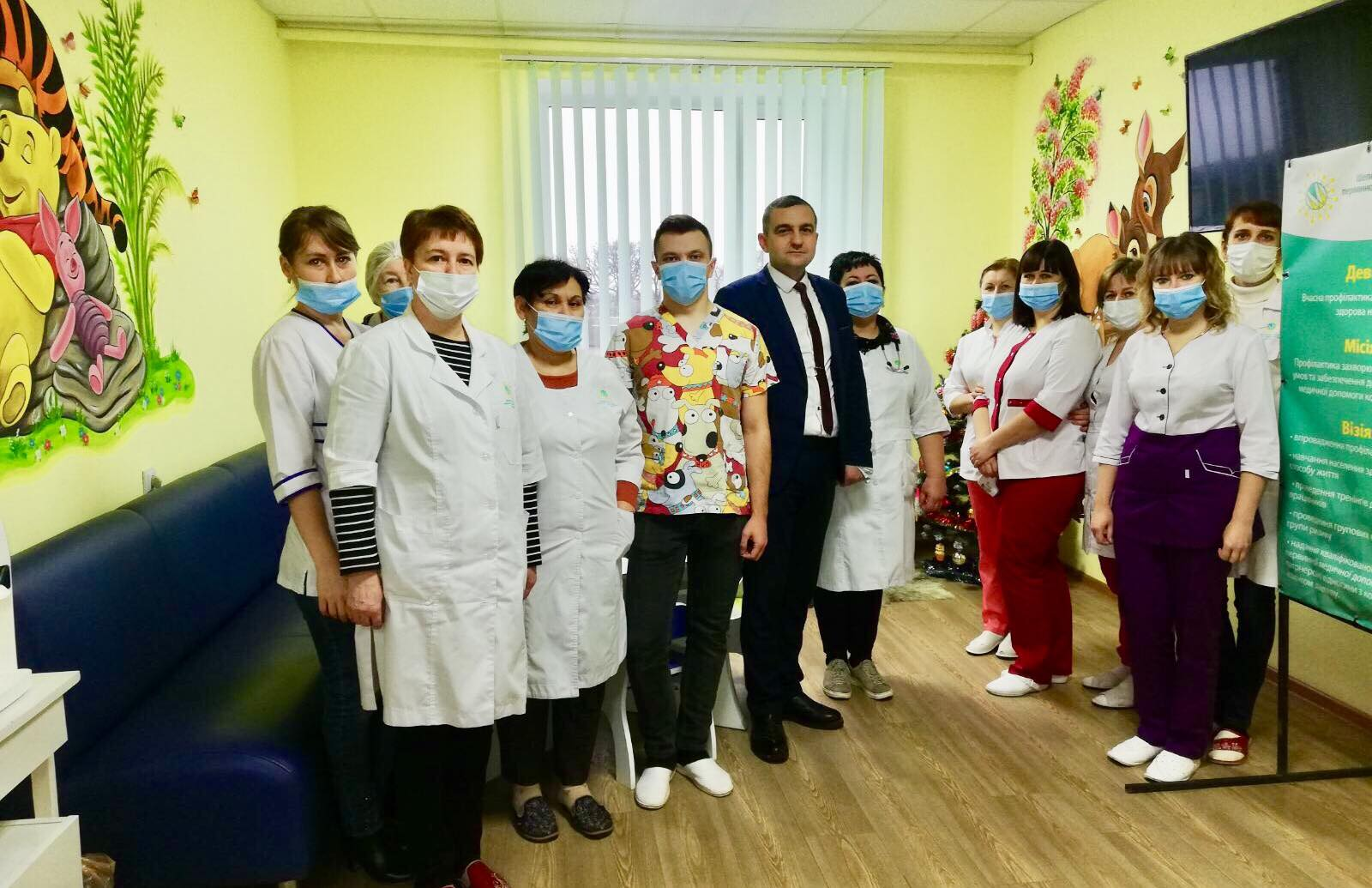 Шепетівська первинна ланка медицини серед 15-ти кращих в Україні |  Хмельниччина північ