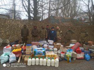 Шепетівчани зібрали гуманітарну допомогу на Схід