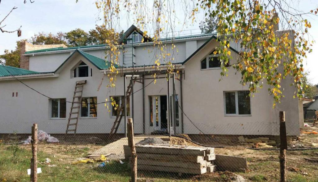 Спортивний зал у селі Цвітоха