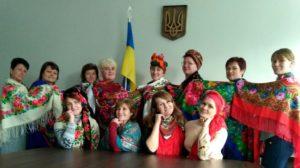 Судилківська ОТГ долучилась до флешмобу до Дня Української Хустки