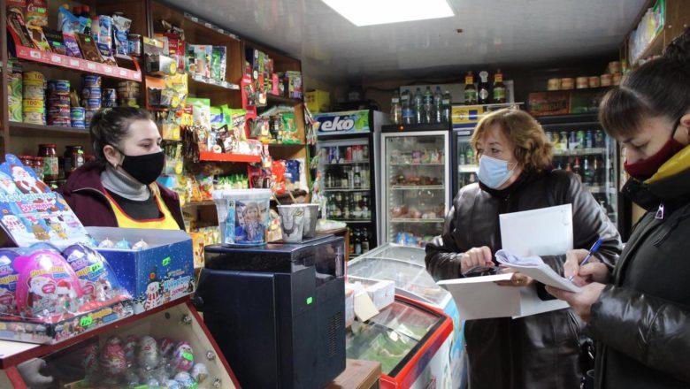 У Крупецькій ОТГ перевіряли магазини