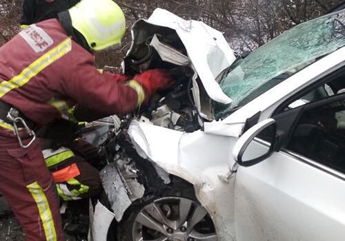 На Білогірщині через ДТП постраждало 6 людей