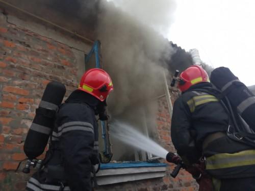 Під час пожежі в Михайлючці травмувалась літня жінка
