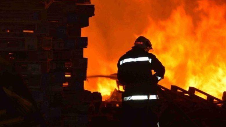 На Білогірщині ледь не згорів житловий будинок