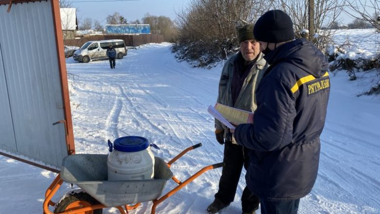 У Шепетівській та Судилківській ОТГ рятувальники провели профілактичні бесіди
