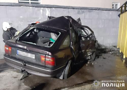 У Славуті внаслідок ДТП загинув молодий водій