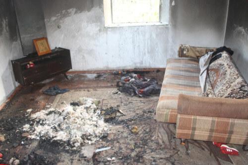 У Полонному засудили жінку, через яку немовля загинуло у вогні