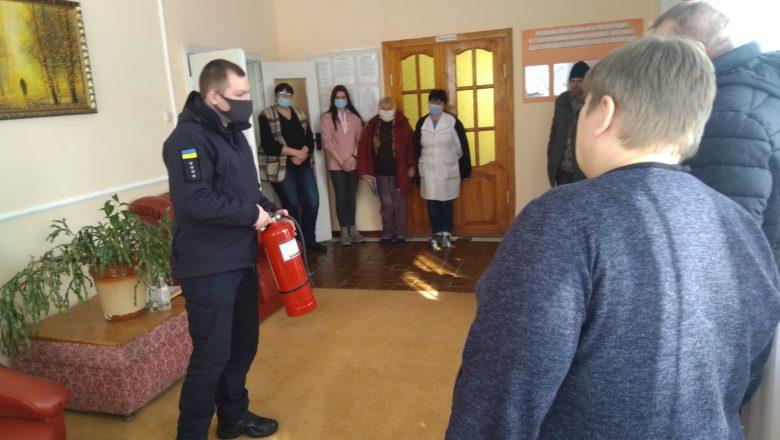Славутські рятувальники перевірили будинок для людей похилого віку