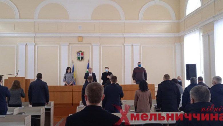 Депутати Шепетівської райради зібрались на сесію