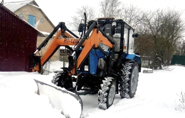 В Грицівській громаді борються зі сніговою стихією