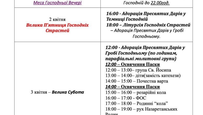 Bohosluzhinnia-rozporiadok