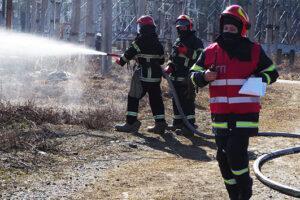 ХАЕС, тренування, пожежа, рятувальники