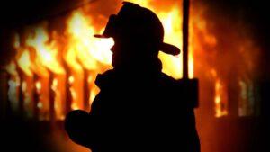 Пожежа, Славута, тіло жінки