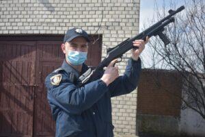 Шепетівка, поліцейські, громада, зброя