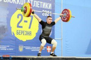 Сергій Колесник, важка атлетика, змагання, Шепетівка