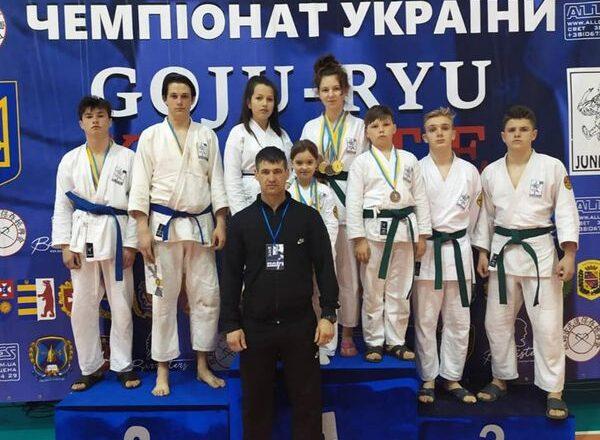 Ямпільські каратисти – серед чемпіонів України