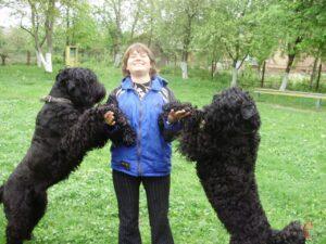 Ольга Бєляєва, кінолог, собаки, Шепетівка