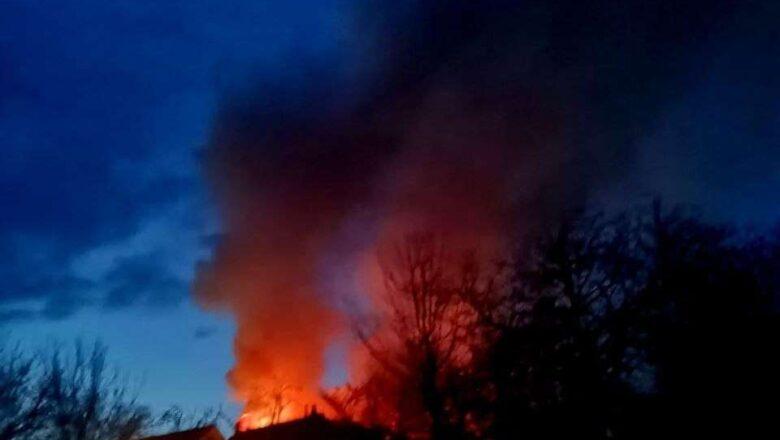 Стали відомими деталі пожежі в Шепетівці