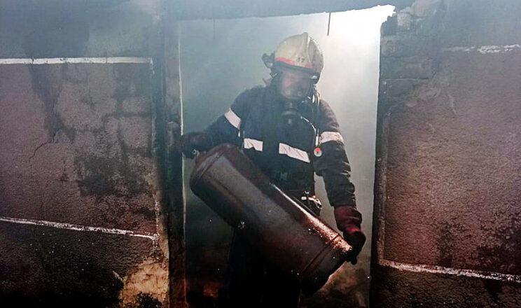 На Шепетівщині ледь не вибухнула будівля
