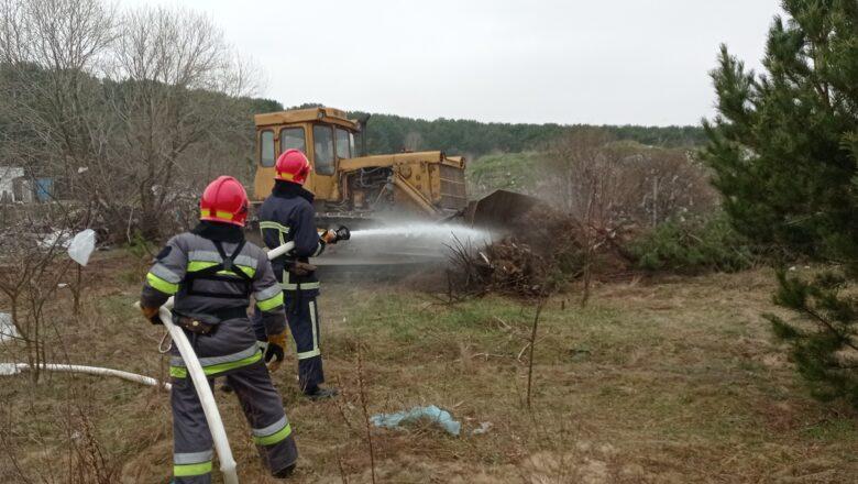 славута пожежа тренування лісгосп