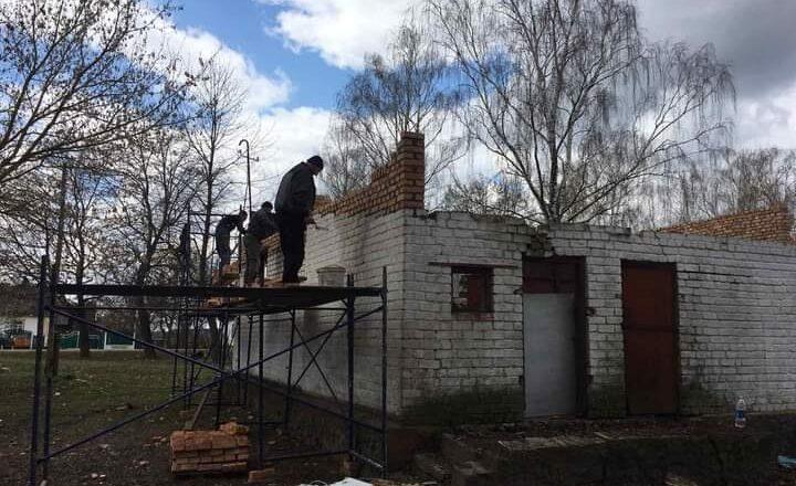 У Крупецькій громаді реконструюють клуб