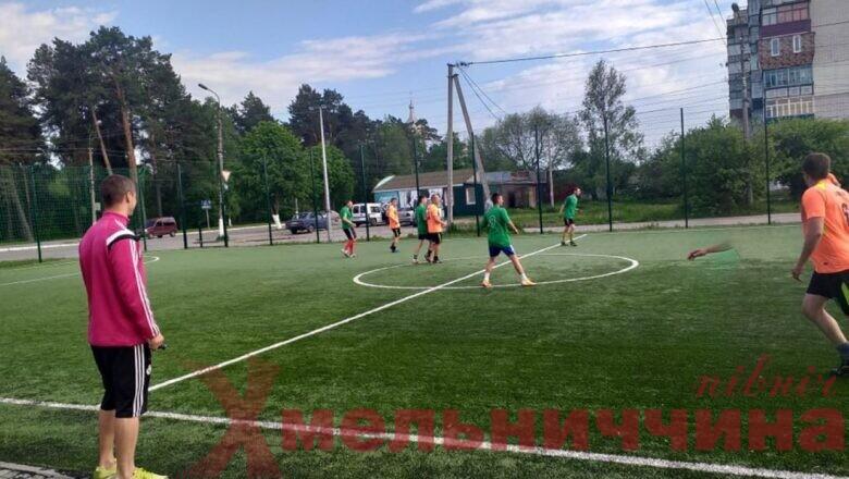 До Дня Шепетівки в місті розпочався турнір з міні-футболу