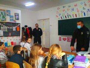 Поліцейські, Славута, учні