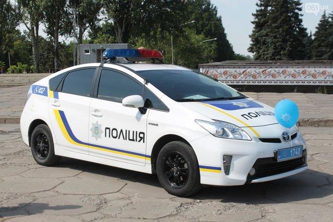 У Шепетівці евакуювали всі поліцейські машини