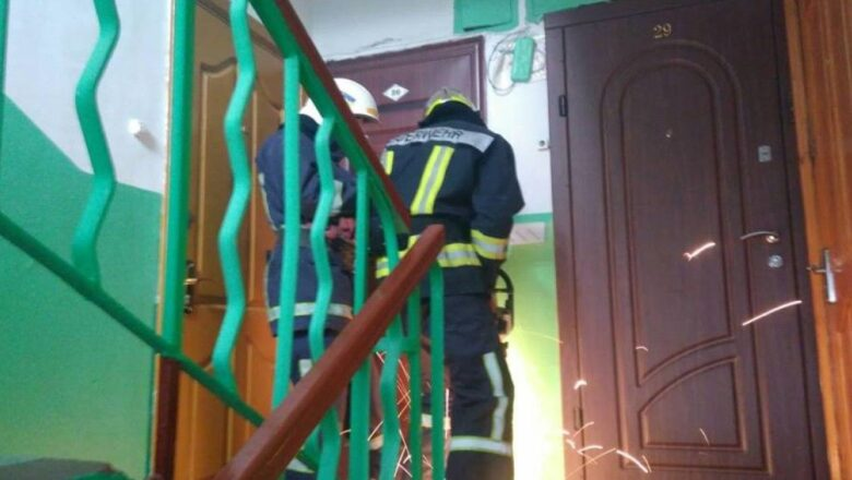 Рятувальники, Полонне, відкрили двері