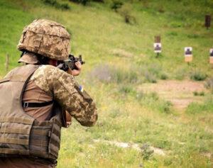 Стрільби, військові навчання, Нетішин