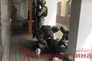 Терористи, поліція, Нетішин, Шепетівка