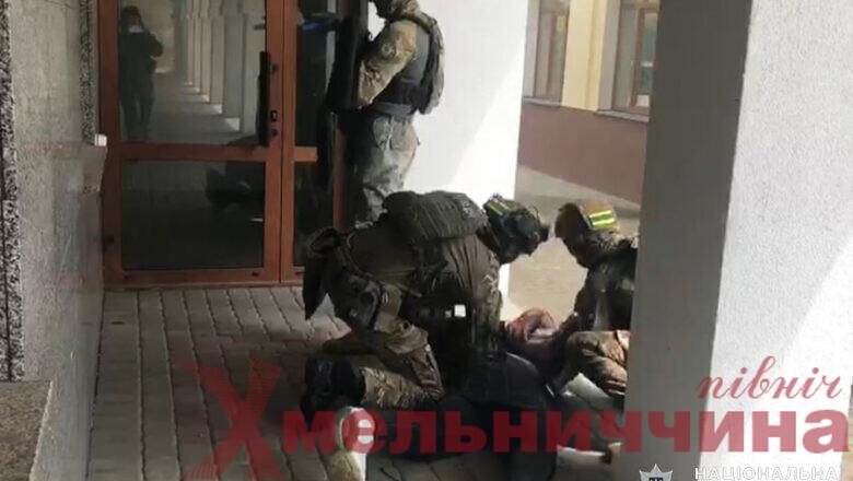 Шепетівські правоохоронці «ліквідували» терористів
