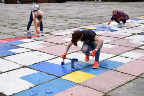 Шепетівчани відновлять вишиванку на головній площі міста