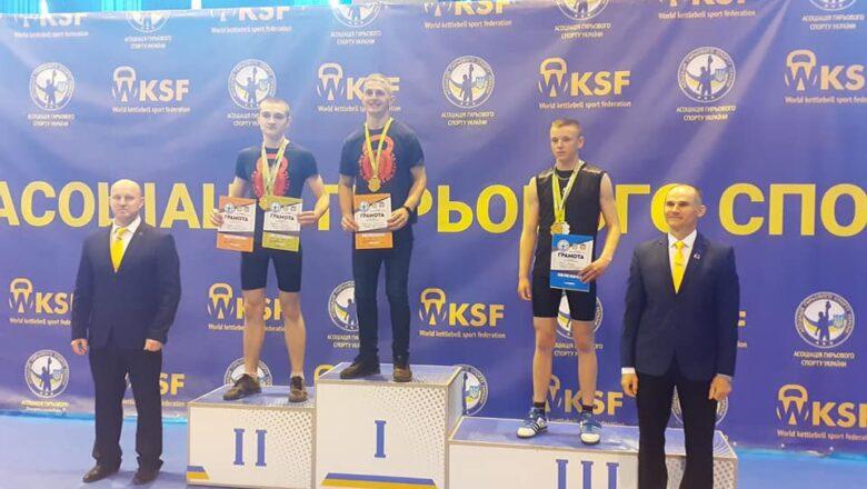 Володимир Касянчук із Нетішина став чемпіоном Асоціації з гирьового спорту України
