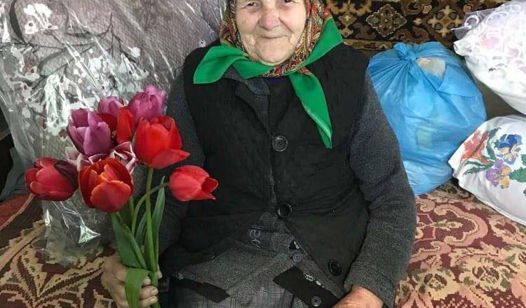 Старожилка з Ганнопільської ТГ відзначає ювілей