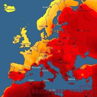 Синоптики попереджають про справжню літню спеку на Шепетівщині