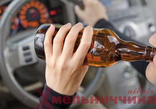 Лише цього тижня у Шепетівці поліцейські виявили 11 п'яних водіїв