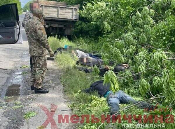 На Хмельниччині затримали «чорних лісорубів»