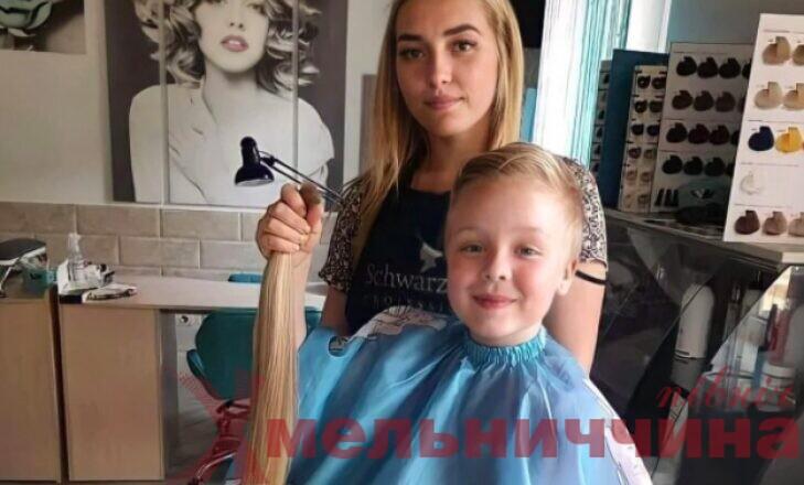 Дівчинка відріхзала волосся, Шепетівка, допомога