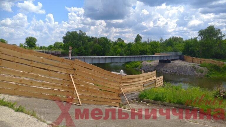 Міст Нетішин, будівницьтво, просідання
