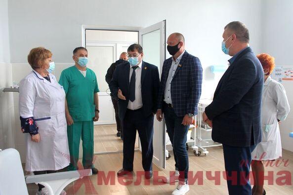У Славутській лікарні відкрили нове отоларингологічне відділення